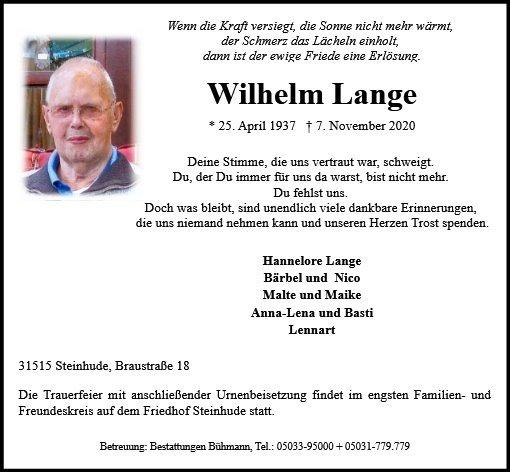 Profilbild von Wilhelm Lange